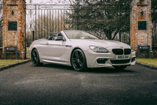 BMW 6 Series in Crayon Grey Vinyl